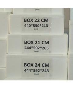 กล่องโฟม Box 21 cm. 442x591x210mm.
