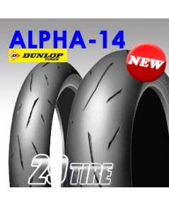 ยางนอก Dunlop รุ่น Alpha-14