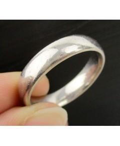 แหวน ปลอกมีด ทองอิตาลี18K ลายเกลี้ยง งานเก่า หลุดจำนำ นน. 8.24 g