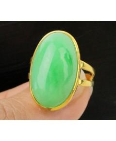 แหวน หยก พม่า หลังเบี้ย ทอง90 งานเก่า หลุดจำนำ สวยมาก นน. 6.43 g