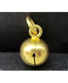 จี้ กระดิ่ง กรุ๊งกริ๊ง นาก40 ชุบทอง งานสวย น่ารักมาก นน. 1.90 g