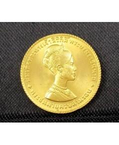 เหรียญ ทองคำ พระราชินี 3 รอบ 12 สิงหาคม พ.ศ. 2511 หลังเหรียญ 150 บาท สวยน่าสะสม นน. 3.69 g