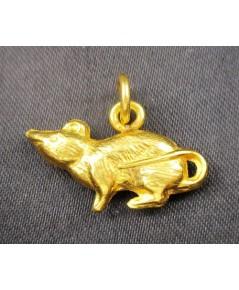 จี้ หนูทอง (ปีชวด) ทอง90 งานเก่า สวยน่าสะสม นน. 2.73 g