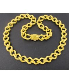 สร้อยคอ Prima Gold ทอง24K ลายห่วงโซ่ งานสวยมาก นน. 62.11 g