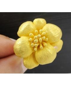 แหวน Gold Master ทอง24K ลายดอกไม้ งานสวยมาก นน. 17.56 g