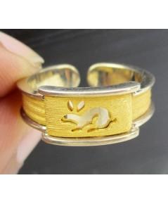 แหวน Gold Master ทอง24K ลรูปกระต่ายน้อย งานสวยมาก นน. 5.92 g