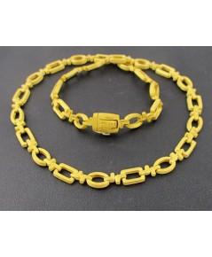 สร้อยคอ Prima Gold ทอง24K ลายโซ่ รอบเส้น งานสวยมาก สภาพใหม่มากๆ นน. 45.22 g