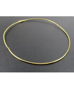 โช๊คเกอร์ อิตาลี750 ทอง18K ลายเกลี้ยง งานสวยมาก นน. 7.08 g