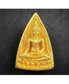 พระสมเด็จนางพญา สก. เนื้อทองคำ ปี ๒๕๓๕   ออกวัดเทวราชกุญชร  สวยน่าสะสม นน. 14.80 g