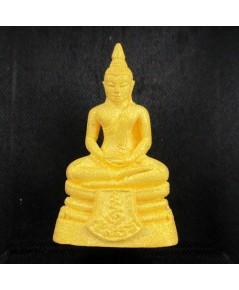 พระพุทธโสธร ๑๒๐ ปี กรมศุลกากร เนื้อทองคำพ่นทรายประกายเพชร ปี๒๕๓๗ ตอกโค้ด ๗๙๔๒ สวยน่าสะสม นน. 22.80 g