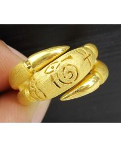 แหวน Prima Gold ทอง24K ลายโรมัน งานสวยมาก นน. 9.15 g