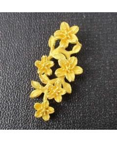 จี้ Prima Gold ทอง24K ฉลุลาย ดอกไม้ งานสวย น่ารักมาก นน. 2.83 g