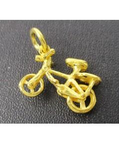 จี้ จักรยาน ทอง96.5 งานสวย น่าเก็บสะสม นน. 3.80 g