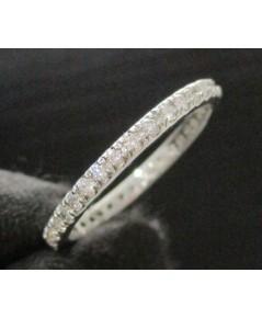 แหวน เพชรรอบ 33 เม็ด 0.33 กะรัต ทอง90 เพชรสวย เล่นไฟ วิ้ง วิ้ง นน. 1.50 g
