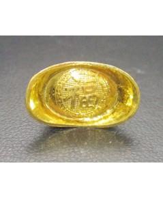 กิมตุ้ง ฮก (โชคลาภ) ทอง96.5 น้ำหนัก 1 สลึง งานสวยน่าเก็บสะสม นน. 3.80 g