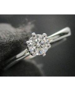 แหวน เพชรเดี่ยวชู 0.20 กะรัตทอง90 เพชรสวย เล่นไฟ วิ้ง วิ้ง นน. 3.48 g