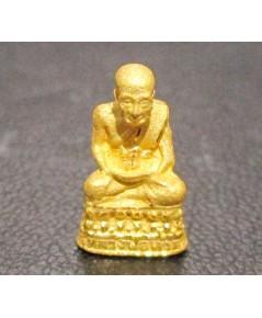 พระหลวงปู่ทวด ลอยองค์ เนื้อทองคำ สวยน่าเก็บสะสม นน. 2.50 g