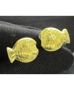 ต่างหู ปลาทอง ทอง96.5 งานสวย น่ารักมาก นน. 1.05 g