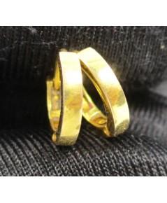 ต่างหู ห่วงทอง ทอง18K งานสวย น่ารักมาก นน. 1.38 g