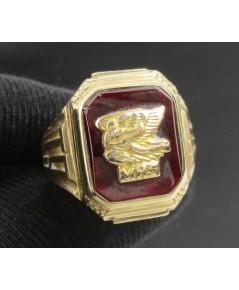แหวน รุ่น ทองอิตาลี10K งานนอก หลุดจำนำ สวยมาก นน. 6.10 g