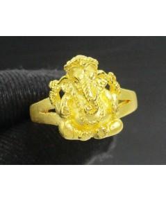 แหวน พระพิฆเนศ ทอง99.99 งานสวย น่าเก็บสะสม size54 นน. 7.60 g