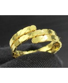 แหวน ทอง99.99 ลายเกลียวพม่า งานสวย น่าเก็บสะสม นน. 3.80 g