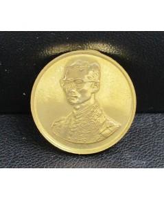 เหรียญทองคำ ในหลวง รัชกาลที่9 ที่ระลึกเดินการกุศลเทดพระเกียรติ 5 ธ.ค. 2529 สวยน่าสะสม นน. 7.08 g