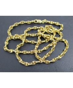 รหัสสินค้า: 50729 สร้อยคอ อิตาลี750 ทอง18K ลายเลข8 งานสวยมาก นน. 9.52 g