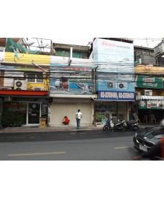 (บ้านเช่าไปแล้ว) ตึกแถวให้เช่า รัชดา-ห้วยขวาง / ตึกแถวทำเลดีค้าขายทำธุรกิจได้เลย ติดถนนราษฎร์บำเพ็ญ