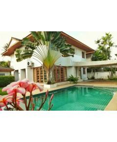 (บ้านเช่าไปแล้ว) บ้านเช่าแจ้งวัฒนะ พร้อมสระว่ายน้ำส่วนตัว บ้านสวยๆ ใกล้ห้างเซ็นทรัล กว้างขวาง