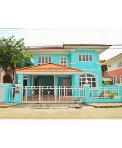 (บ้านเช่าไปแล้ว) บ้านเช่ารังสิต / บ้านเช่าราคาถูก หมู่บ้านภัสสร1 รังสิตคลอง3 ใกล้ Future Park
