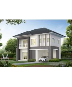 (บ้านเช่าไปแล้ว) บ้านเช่ารัตนาธิเบศร์ / บ้านเดี่ยวใหม่ๆ ให้เช่าราคาถูก LANCEO CRIB ใกล้รถไฟฟ้า