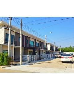 (บ้านเช่าไปแล้ว) บ้านเช่าติวานนท์ / บ้านเช่าราคาถูก ทาวน์เฮาส์ใหม่กริ๊บ The CONNECT ติดถนนติวานนท์
