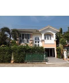 (บ้านเช่าไปแล้ว) บ้านเช่าวิภาวดี60 / บ้านเดี่ยวตกแต่งสวย ร่มรื่น เฟอร์ครบพร้อมอยู่ ทำเลดี