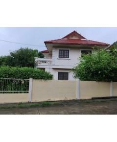บ้านเช่านนทบุรี/ บ้านเช่าราคาถูก นนทบุรี  หมู่บ้านมณียาท่าอิฐ-รัตนาธิเบศร์ ใกล้รถไฟฟ้าสายสีม่วง
