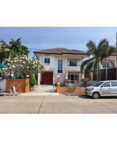 บ้านเช่ามีนบุรี/บ้านเช่าราคาถูก ม.เปี่ยมภิรมย์ รีสอร์ท ใกล้ไปรษณีย์ นิมิตรใหม่ กว้างขวาง น่าอยู่