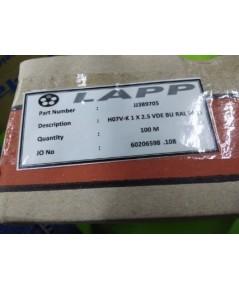 LAPP H07V-K 1x2.5 VDE BU RAL 5015 สีน้ำเงิน 100M ราคา 800 บาท