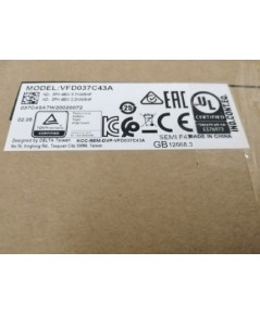 DELTA C2000 VFD037C43A 3.7KW 5HP 380V 3PH ราคา 13650 บาท