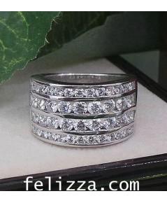 แหวนเพชรแท้ เบลเยี่ยมคัท 2127R9
