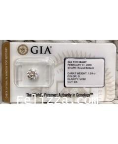 เพชรร่วงใบเซอร์ GIA D-CH0003