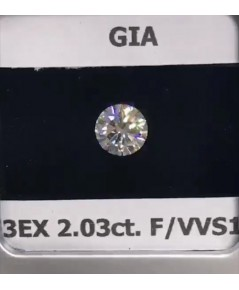 เพชรร่วงใบเซอร์ GIA D-Y0004