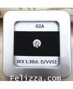 เพชรร่วงใบเซอร์ GIA (D-AM0002)