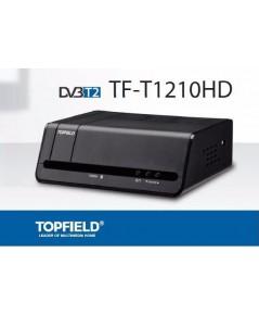 TOPFIELD กล่องรับสัญญาณดิจิตอลทีวี รุ่น TF-T1210HD - BLACK