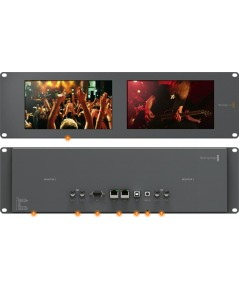 Black Magic: Smart View Dual 8 inch 3 RU SDI/HD-SDI/3G SDI monitoring