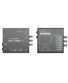 Black Magic: Mini Converter SDI to HDMI 4K