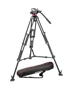 ขาตั้งกล้องวีดีโอ Manfrotto MVH502A Fluid Head and 546B Tripod System with Carrying Bag