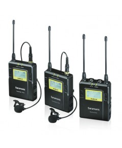 Saramonic UWMIC10-TH Set 2 96-Channel Digital UHF Wireless Lavalier Microphone System