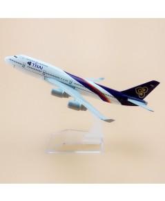 โมเดลเหล็ก เครื่องบินโดยสาร Thai Airlines Boeing 737 16 เซ็นติเมตร