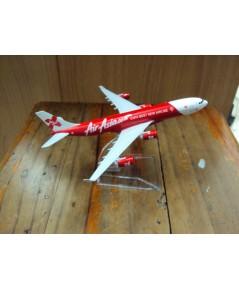 โมเดลเหล็ก เครื่องบินโดยสาร Airasia Airlines Boeing 737 16 เซ็นติเมตร