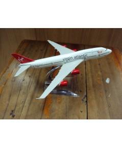 โมเดลเหล็ก เครื่องบินโดยสาร VIRGIN ATLANTIC Airlines Boeing 737 16 เซ็นติเมตร